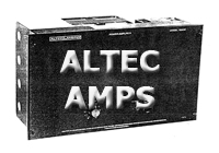 Altec Amplifier Section